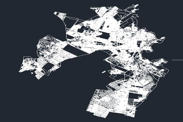 فایل اتوکد نقشه کرج به صورت کاملا رایگان - فروشگاه ایرانیان شهرساز