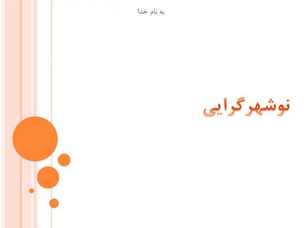 دانلود پاورپوینت نوشهرگرایی به صورت رایگان - فروشگاه ایرانیان شهرساز