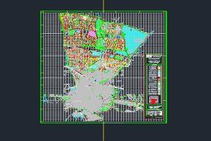 نقشه اتوکد طرح تفصیلی شهر قزوین به صورت رایگان - فروشگاه ایرانیان شهرساز