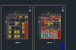 فایل اتوکد طراحی بیمارستان به صورت رایگان - فروشگاه ایرانیان شهرساز