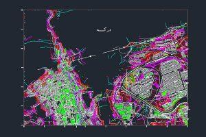 فایل نقشه اتوکدی درکه به صورت رایگان - فروشگاه ایرانیان شهرساز