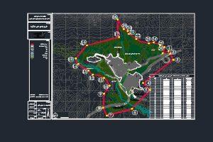 نقشه محدوده و حریم شهر دژکرد به صورت رایگان - فروشگاه ایرانیان شهرساز