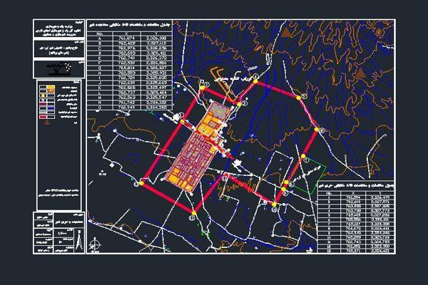 نقشه محدوده و حریم شهر کره ای به صورت رایگان - فروشگاه ایرانیان شهرساز