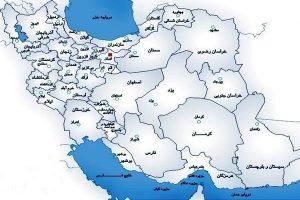 دانلود نقشه شیپ فایل کشور ایران بصورت رایگان - فروشگاه ایرانیان شهرساز