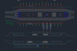 فایل اتوکدی طراحی مترو به صورت رایگان - فروشگاه ایرانیان شهرساز
