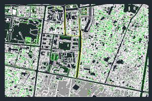 فایل اتوکد بازار تهران به صورت رایگان - فروشگاه ایرانیان شهرساز