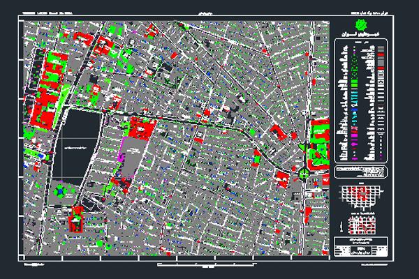 فایل اتوکد میدان بهارستان به صورت رایگان- فروشگاه ایرانیان شهرساز