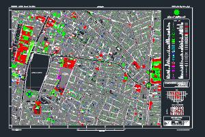 فایل اتوکد میدان بهارستان به صورت کاملا رایگان- فروشگاه ایرانیان شهرساز