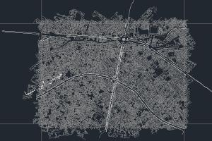 نقشه اتوکد شهر اصفهان به صورت رایگان- فروشگاه ایرانیان شهرساز