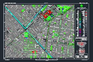 نقشه اتوکد نظام آباد شهر تهران به صورت رایگان - فروشگاه ایرانیان شهرساز