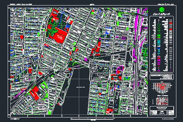 نقشه اتوکد پاسداران شهر تهران به صورت رایگان - فروشگاه ایرانیان شهرساز
