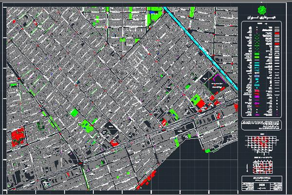 نقشه شهر وحیدیه استان تهران به صورت رایگان- فروشگاه ایرانیان شهرساز