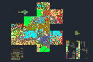 نقشه طرح تفصیلی شهر ساری به صورت رایگان - فروشگاه ایرانیان شهرساز