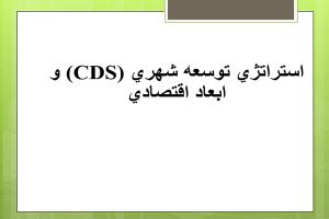 پاورپوینت CDS و ابعاد اقتصادی به صورت رایگان - فروشگاه ایرانیان شهرساز