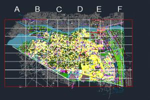 نقشه اتوکد شهر بم به صورت کاملا رایگان - فروشگاه ایرانیان شهرساز