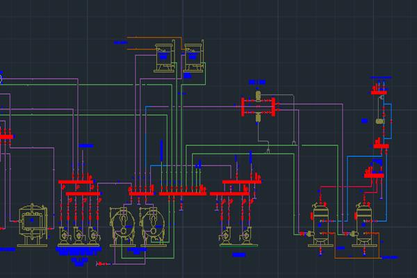 طراحی فلودیاگرام موتورخانه استخر به صورت رایگان - فروشگاه ایرانیان شهرساز