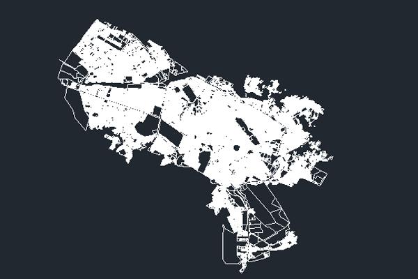نقشه اتوکد شهر مشهد به صورت رایگان - فروشگاه ایرانیان شهرساز