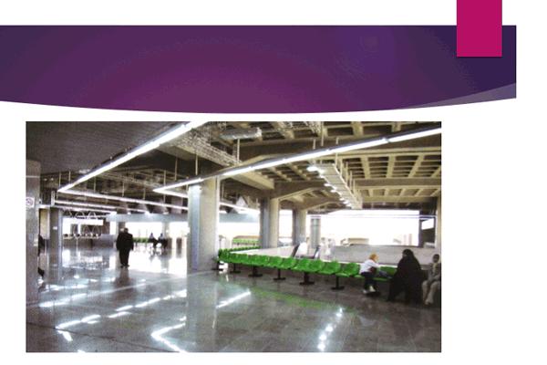 پاورپوینت بررسی فضاهای ایستگاه مترو - فروشگاه ایرانیان شهرساز