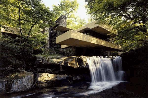 پاورپوینت معرفی خانه ی آبشار به صورت رایگان - فروشگاه ایرانیان شهرساز