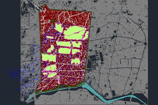 اتوکد بازنگری طرح تفصیلی منطقه 1 اصفهان - فروشگاه ایرانیان شهرساز