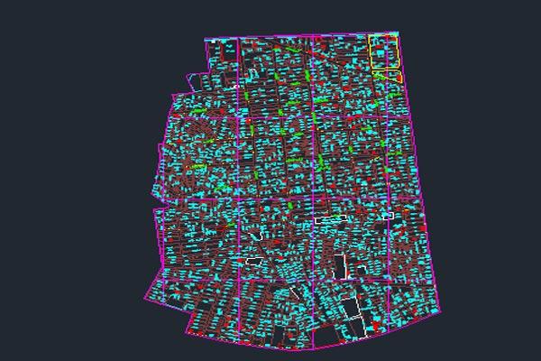 اتوکد نقشه منطقه ۱۰ شهر تهران به صورت رایگان - فروشگاه ایرانیان شهرساز