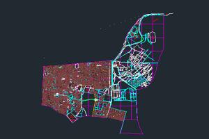 اتوکد نقشه منطقه ۱۴ شهر تهران به صورت رایگان - فروشگاه ایرانیان شهرساز