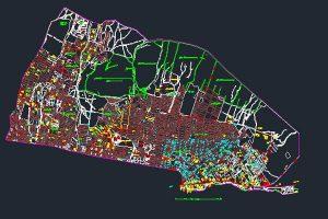 اتوکد نقشه منطقه ۴ شهر تهران به صورت رایگان - فروشگاه ایرانیان شهرساز