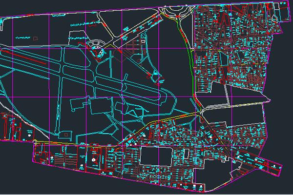 اتوکد نقشه منطقه ۹ شهر تهران به صورت رایگان - فروشگاه ایرانیان شهرساز