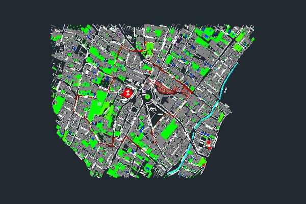 نقشه اتوکد اختیاریه تهران به صورت رایگان - فروشگاه ایرانیان شهرساز