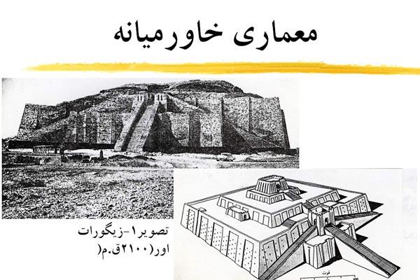 پاورپوینت معماری خاورمیانه به صورت رایگان - فروشگاه ایرانیان شهرساز