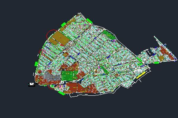 اتوکد طرح تفصیلی منطقه 10 اصفهان به صورت رایگان - فروشگاه ایرانیان شهرساز