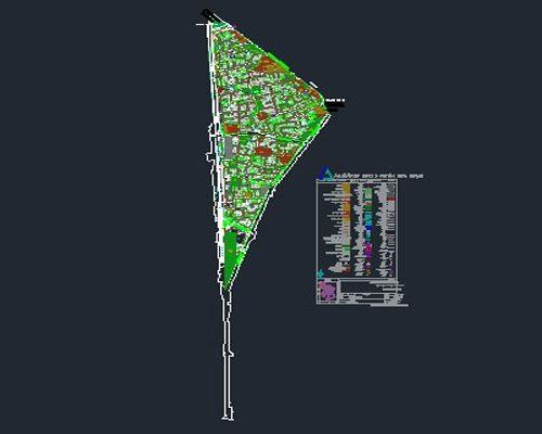 اتوکد طرح تفصیلی منطقه 2 اصفهان به صورت رایگان - فروشگاه ایرانیان شهرساز