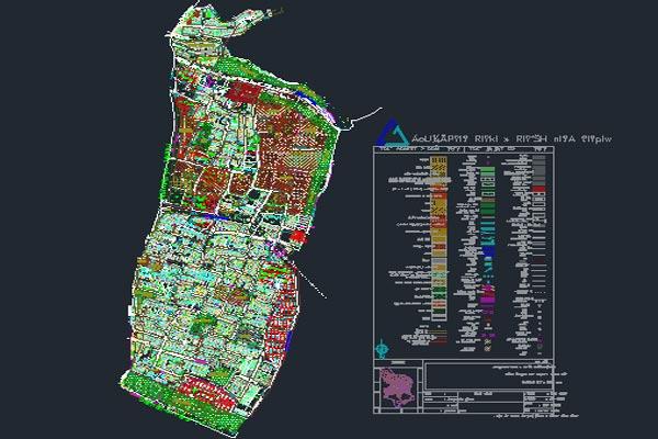 اتوکد طرح تفصیلی منطقه 4 اصفهان به صورت رایگان - فروشگاه ایرانیان شهرساز