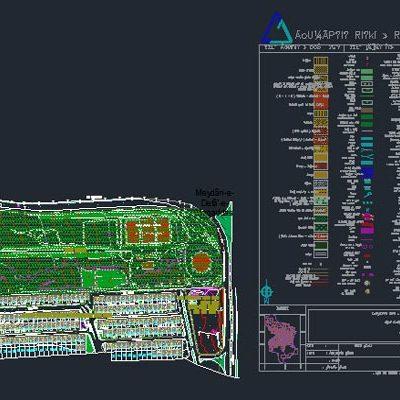 اتوکد طرح تفصیلی منطقه 5 اصفهان به صورت رایگان - فروشگاه ایرانیان شهرساز