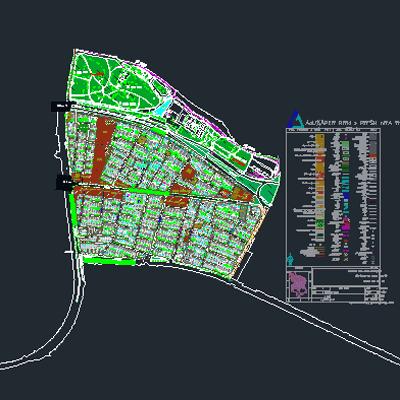 اتوکد طرح تفصیلی منطقه 6 اصفهان به صورت رایگان - فروشگاه ایرانیان شهرساز