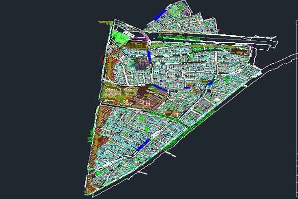 اتوکد طرح تفصیلی منطقه 7 اصفهان به صورت رایگان - فروشگاه ایرانیان شهرساز