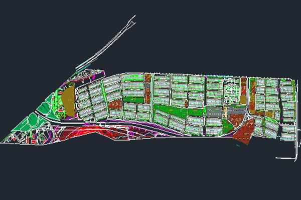 اتوکد طرح تفصیلی منطقه13 اصفهان به صورت رایگان - فروشگاه ایرانیان شهرساز