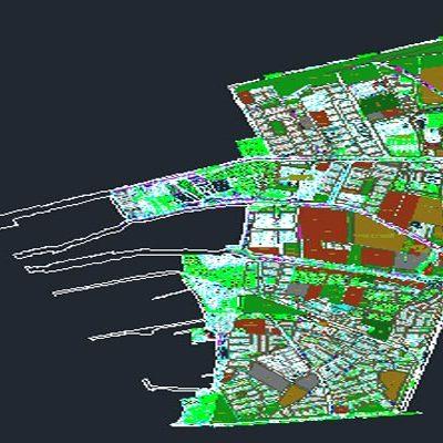 اتوکد طرح تفصیلی منطقه14 اصفهان به صورت رایگان - فروشگاه ایرانیان شهرساز