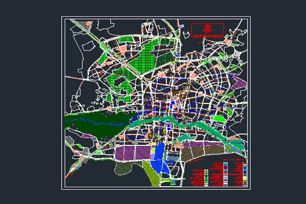 فایل اتوکد طرح جامع اصفهان به صورت رایگان - فروشگاه ایرانیان شهرساز