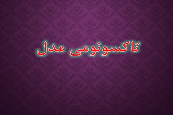 فایل پاورپوینت مدل تاکسونومی به صورت رایگان - فروشگاه ایرانیان شهرساز