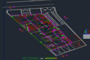 اتوکد طراحی ساختمان مسکونی 2 به صورت کامل - فروشگاه ایرانیان شهرساز