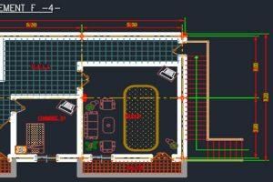 اتوکد طراحی متل شماره پنج به صورت رایگان - فروشگاه ایرانیان شهرساز