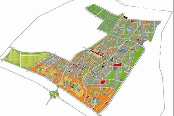 بازنگری طرح جامع شهر جدید هشتگرد به صورت وورد - فروشگاه ایرانیان شهرساز