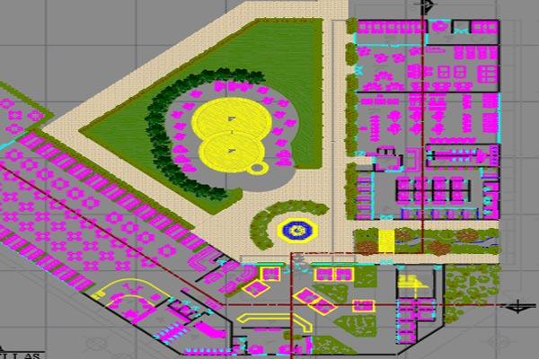 دانلود اتوکد طراحی هتل 4 به صورت رایگان - فروشگاه ایرانیان شهرساز
