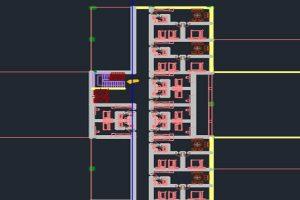 دانلود اتوکد طراحی هتل 6 به صورت رایگان - فروشگاه ایرانیان شهرساز