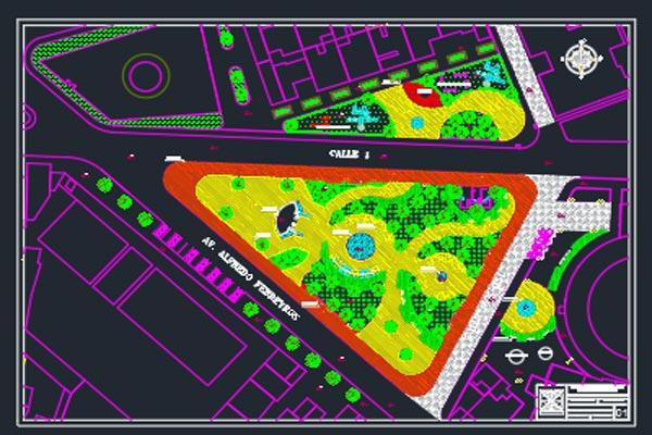 فایل اتوکد طراحی شهربازی به صورت رایگان - فروشگاه ایرانیان شهرساز
