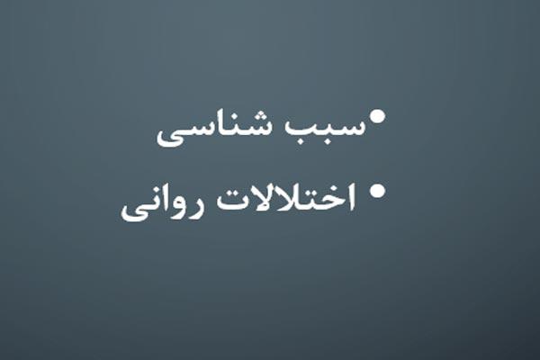 پاورپوینت سبب شناسی اختلالات روانی زمینه ژنتیکی - فروشگاه ایرانیان شهرساز
