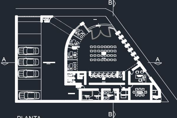 اتوکد طراحی بانک شماره هفت به صورت رایگان - فروشگاه ایرانیان شهرساز