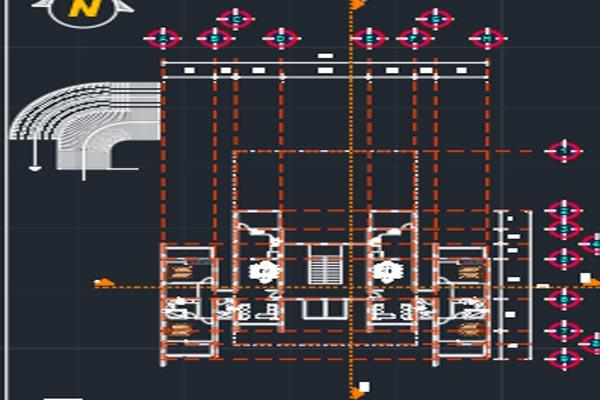 اتوکد طراحی برج شماره سه به صورت رایگان - فروشگاه ایرانیان شهرساز