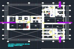 اتوکد طراحی برج شماره هشت به صورت رایگان - فروشگاه ایرانیان شهرساز